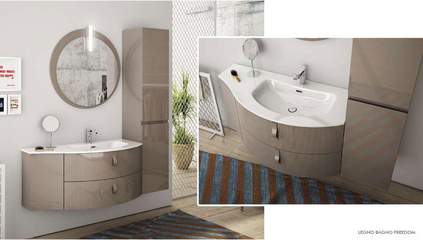 Ceramiche marmorelle arredo bagno roma legnobagno cerasa mobiltesino edon - La roccia arredo bagno ...
