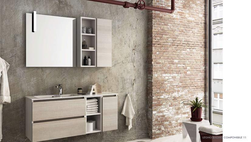 Ceramiche marmorelle arredo bagno roma legnobagno cerasa for Mobili bagno roma